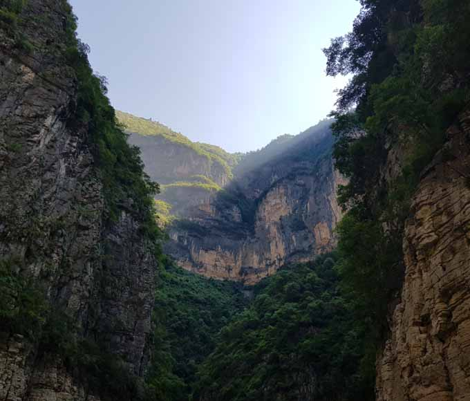 The Beautiful Landscape of Yangtze River