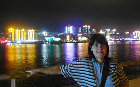 Yangtze River Night View