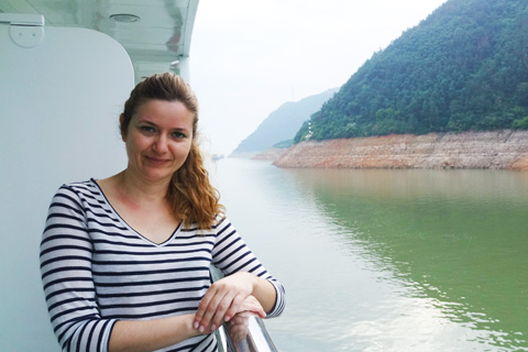 Yangtze River Cruises - Balcony
