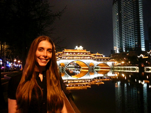 Have a night tour in Chengdu