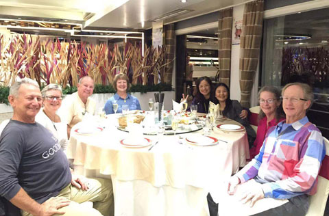 Yangtze River Cruise Dinner