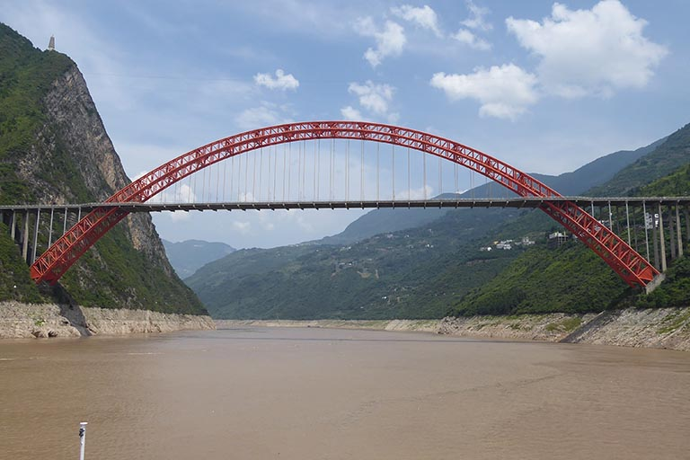 Marvelous Bridge over Yangtze River