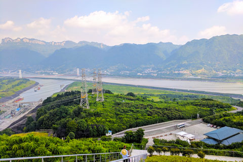 Yangtze River Cruise - Three Gorges Dam