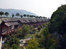 Coffer Dam of Shibaozhai