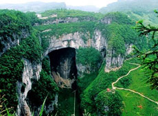 Wulong Gorges Scenery