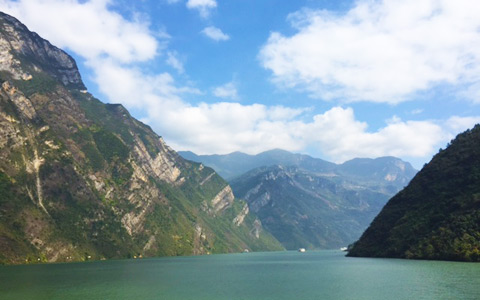 Yangtze River Cruise Scenery