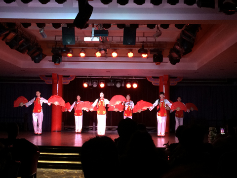 Yangtze River Cruise Captain's Welcome Party