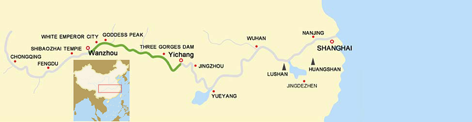 3 Days Yangtze River Cruise from Chongqing