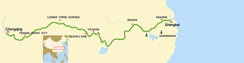 7 Days Yangtze River Cruise from Chongqing to Shanghai