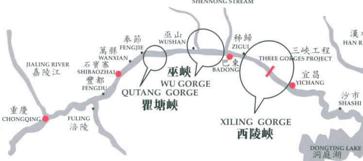 The Three Gorges Map
