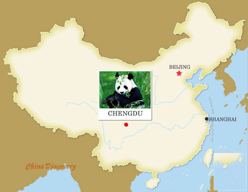 Chengdu Map, China Chengdu Map, Chengdu City Map