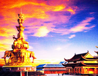 Golden Summit in Emei