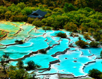 Huanglong Five-color Ponds