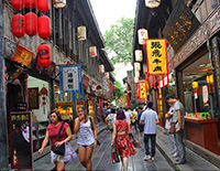Explore Three Kingdom Culture in Jinli Old Street
