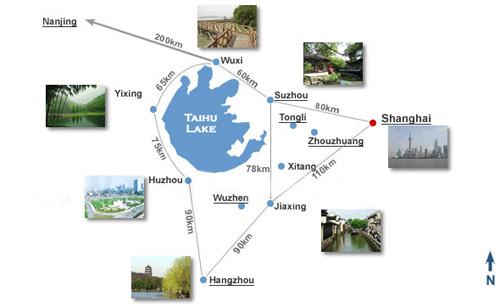 Shanghai Map Shanghai City Travel Attraction Metro Map
