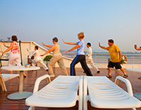 Play Taichi in the Morning on Sundeck