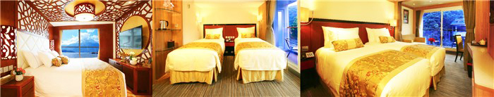 Choose Yangtze River Cruise Cabins - Century Paragon Cabins