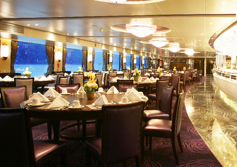 Dining Hall on New Century Cruises