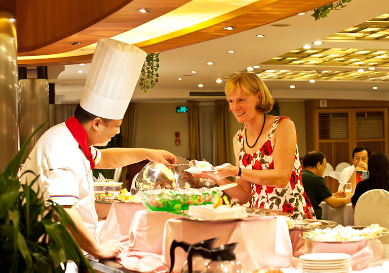 Dining Service on Century Cruises