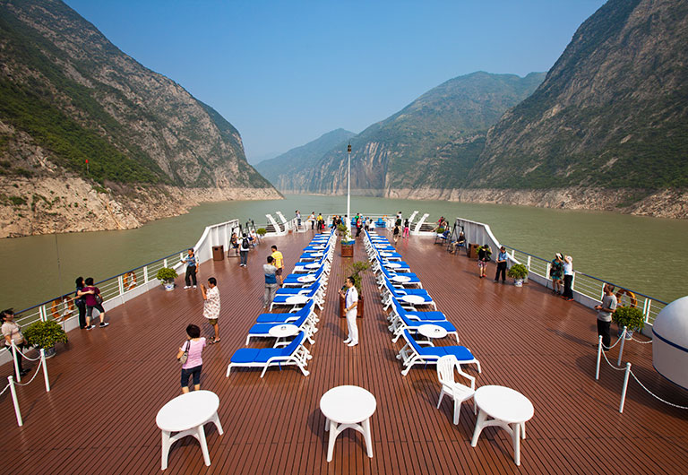 Sundeck on Century Cruises
