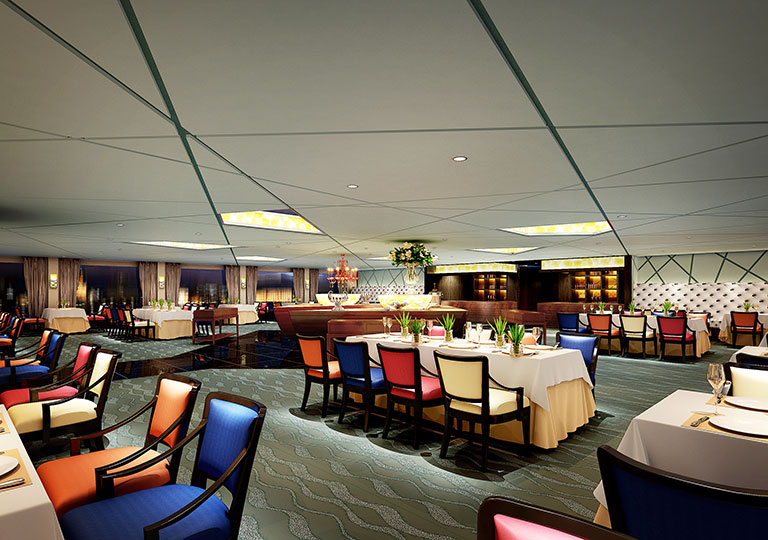 VIP Dining Hall on Century Cruises