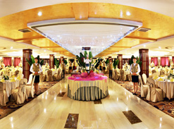 Dining Hall on Yangtze Gold Cruises