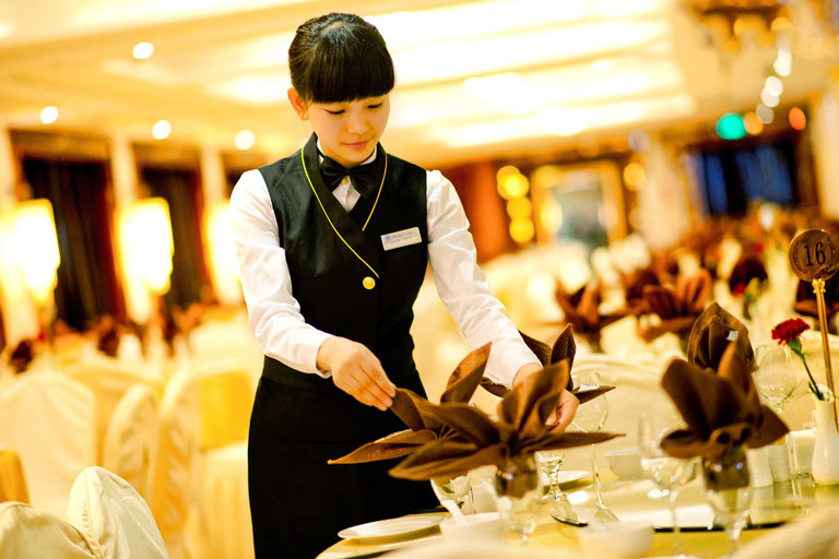 Food Service on President Cruises