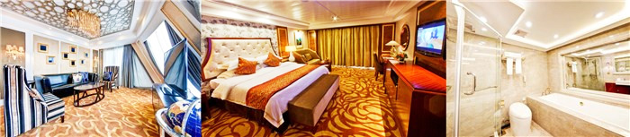 Choose Yangtze River Cruise Cabins - Presitial Suite onboard President No. 7