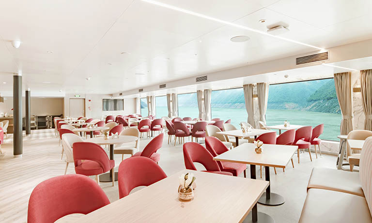Two-story Restaurant Onboard Century Glory