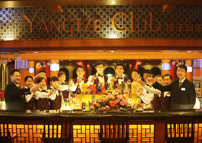 Yangtze Club on Victoria Cruises