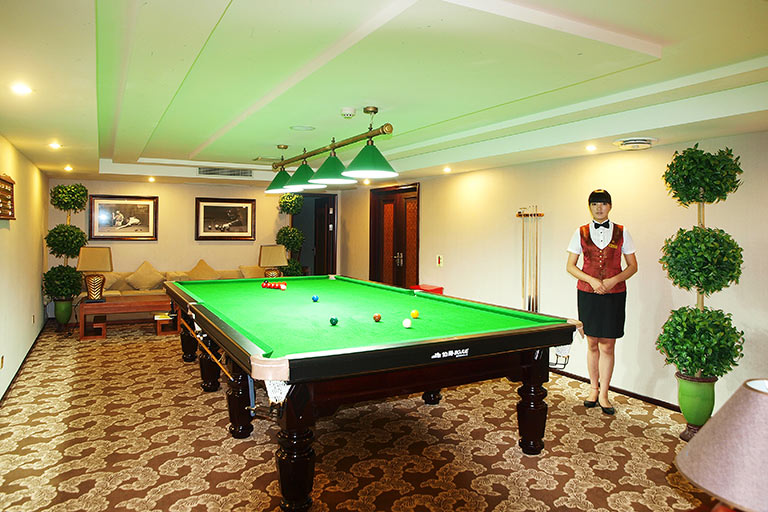 Billiards room on Yangtze Gold Cruises