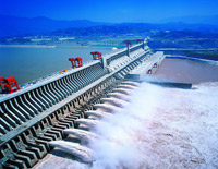 World-famous Three Gorges Dam
