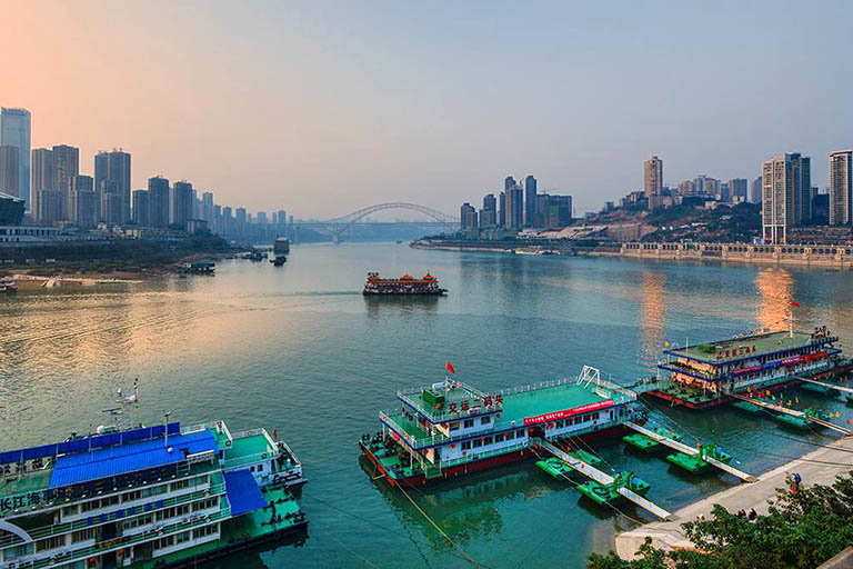 Yangtze River Cruise Weather - Chongqing Chaotianmen Port