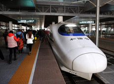 Nanjing High Speed Train