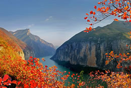 Autumn Scenery of Qutang Gorge