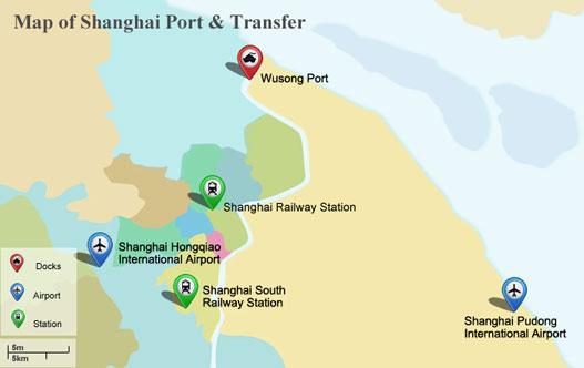 Shanghai Port Shanghai International Amp Domestic Ports