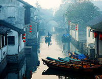 Zhouzhuang Water Town, No.1 Water Town in China