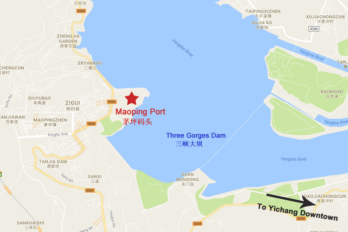 Maoping Port Map