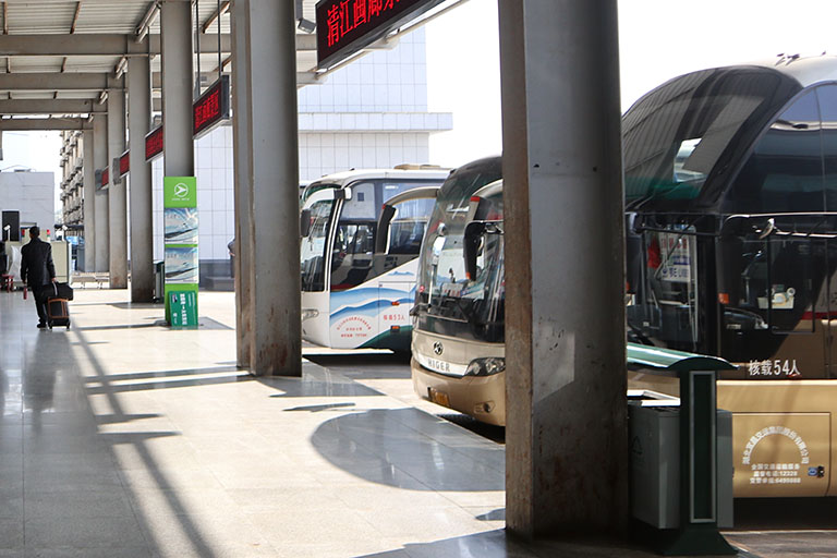 Yichang East Railway Station Bus