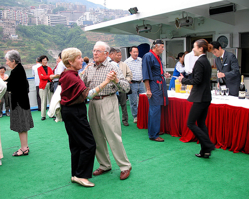 Yangtze Cruise Onboard Party Captain S Welcome Amp Farewell