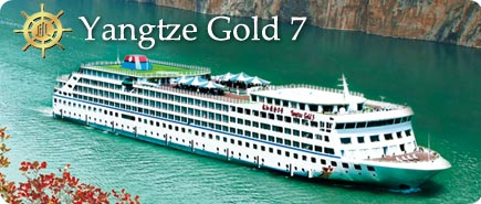 Yangtze Gold 7 Cruise Ship