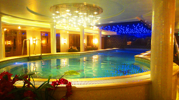 Century Legend Cruise Ship Swimming Pool
