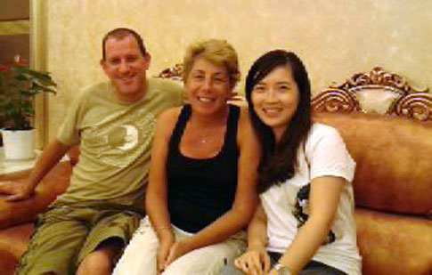Valued China Yangtze Tour Guests with Linda