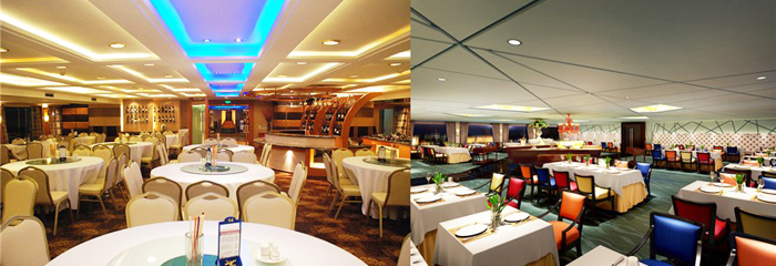 Dining on Yangtze River Cruise - Dining Hall