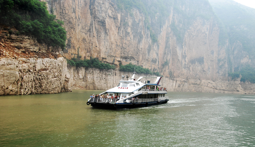 Boat on Lesser Three Gorges