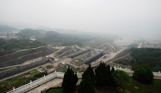 Three Gorges Dam Site
