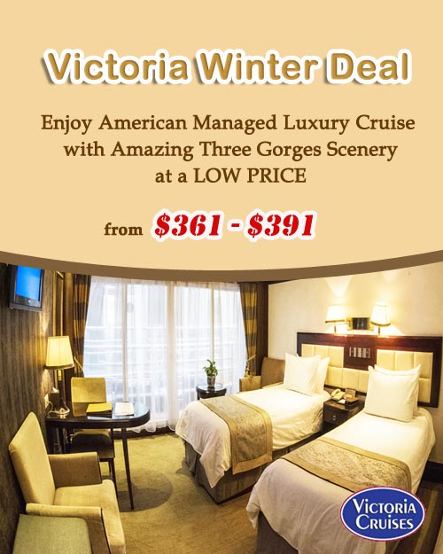 Victoria Cruise Winter Offer
