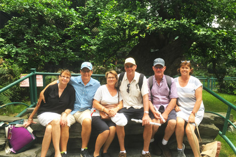 Jack's Guests from US Visited Yangshuo