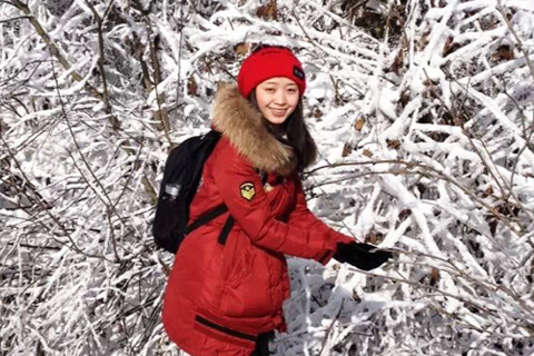 Wendy visited Xiling Snow Mountain in Sichuan